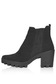 BOBBY Chelsea Boots - TOPSHOP -- black booties are a wardrobe staple, especially for Fall 2015