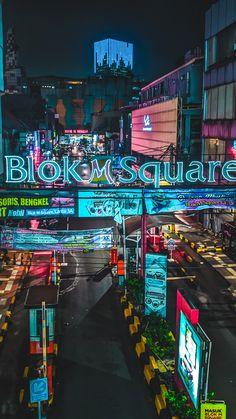 Blok M Square, Jakarta Selatan City Scene, Jakarta, Times Square, Building, Places, Travel, Viajes, Buildings, Destinations