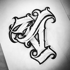 @bigmeas #26challenge #scherbik #typegang #tattoosketch #calligritype #letteringart #letteringco #flashworkers #handstyles #scripttattoo… Tattoo Lettering Styles, Chicano Lettering, Graffiti Lettering, Typography, Letter S Tattoo, Tattoo Fonts Alphabet, Creative Lettering, Lettering Design, Tattoo Sketches
