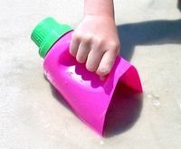 plastic jug buckets & scoops; found at Fun In The Making