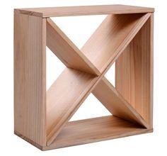 Cheap Wood Wine Racks   ... Solid Wood 24 Bottle Stackable Tabletop Wooden Wine Storage Rack Cube