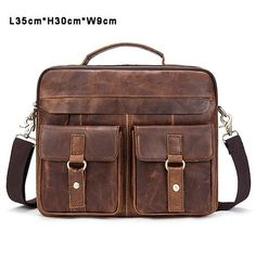 f332ca7bc49 Men Bag Crossbody Bags Casual Totes Leather Handbags Messenger Laptop Bag  Genuine Leather Shoulder Bags Men Briefcases