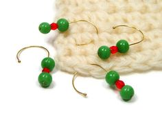 Green Orange Removable #Stitch #Markers #Crochet by TJBdesigns, $6.00