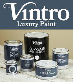 Vintro Luxury Paint: 250 χρόνια ιστορίας & εμπειρίας σε ένα χρώμα! Τα πιο σύγχρονα κι εξελιγμένα χρώματα κιμωλίας τώρα και στην Ελλάδα