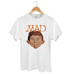 Camiseta Masculina MAD Face #MAD #DCComics