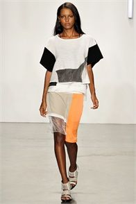 Spring Summer 2013: Helmut Lang, New York - click on the photo to see the complete collection and review on Vogue.it