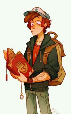 Dipper as an adult