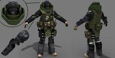 "ArtStation - Juggernaut | ""Soldiers.inc""| Plarium, Vladimir Silkin"