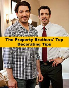The Property Brothers' Top Decorating Tips! Great decorating tips for any home. || Ashley Furniture Home Store