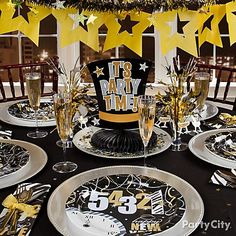 2013 New Years Eve Party Supplies New Years Decorations Party City New Years Eve Tableware 2013 New Years Eve Decoration Ideas