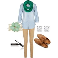 """""""Easy School Day"""" by skoonce on Polyvore"""