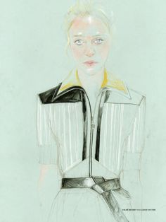 Chloe Sevigny / Document Journal Fall/Winter 2014 Portraits by Cédric Rivrain