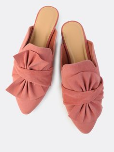 Shop Faux Suede Bow Slip On Flats MAUVE online. SheIn offers Faux Suede Bow Slip On Flats MAUVE & more to fit your fashionable needs.