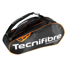 Tecnifibre Absolute Squash 6 Racket Bag Orange Squash Bags b145fec7eb33e