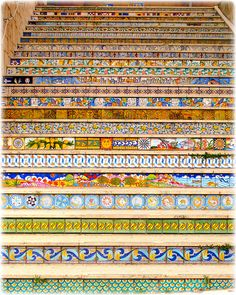 Sciacca's stairs, Sicily | Flickr - Photo Sharing!