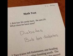 Funny answers from students that are surprisingly true