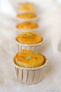 Muffin al Parmigiano   dolcizie   Bloglovin'