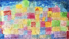 Paul Klee - Bunte Landschaft