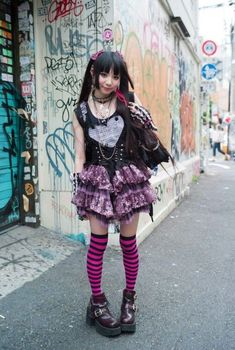Edgy Outfits, Grunge Outfits, Cool Outfits, Fashion Outfits, Scene Outfits, Pastel Goth Fashion, Lolita Fashion, Alternative Outfits, Alternative Fashion
