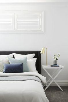 LITTLE WILLOW — Adore Home Magazine Royal Oak Floors, West Elm Dining Table, Weatherboard House, King Furniture, Doors And Floors, Home Bedroom, Bedroom Ideas, Master Bedroom, Bedrooms