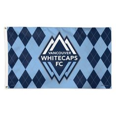 Vancouver Whitecaps FC WinCraft x Deluxe Single-Sided Flag Soccer Flags, Sports Flags, Mls Soccer, Vancouver Whitecaps Fc, Flags For Sale, House Flags, 5 S, Free Design, Logos