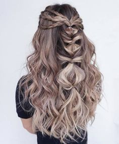 Romantic Half-up/Half-down Hairstyles picture 5 | Bridemaid Hair ...