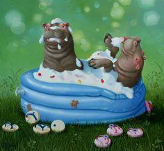 Suzan Visser | Hippo(d)room