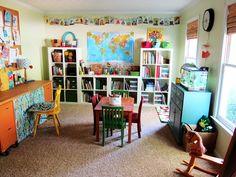 petits homeschoolers: Tour du monde des plus belles salles de classe à la maison