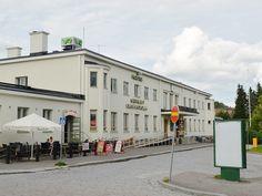 Rautatieasemalla Kuopiossa