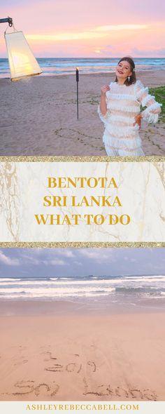 Bentota Sri Lanka: The Ultimate Travel Guide - Ashley Rebecca Sri Lanka Itinerary, Rainy Season, Pool Days, Water Activities, Big Waves, Beach Pool, Ultimate Travel, Travel Couple, Asia Travel