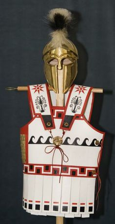Ancient Greek Army Weapons | Replica Ancient Greek armour and helmet: NEN Gallery