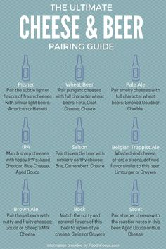 The Ultimate Guide to Pairing Beer and Cheese