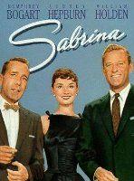 """Humphrey Bogart e Audrey Hepburn estão incríveis em """"Sabrina"""". Amo amo amo este filme. Acho que nunca me cansarei em assisti-lo."""