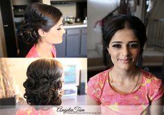LOS ANGELES INDIAN BRIDE WEDDING MAKEUP ARTIST HAIR STYLIST >> ANGELA TAM | WEDDING MAKEUP ARTIST TEAM