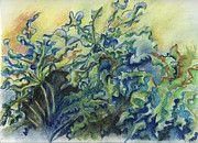 Leaves In The Wind, Pastel on archival Paper (http://www.facebook.com/SnejanaArt), $145