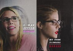The one & only <3 Our Queen <3 Felicity Smoak <3  #Arrow #Olicity