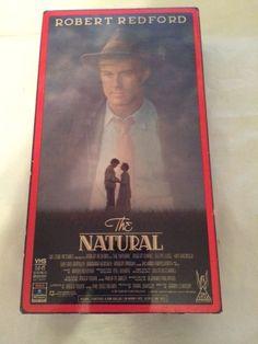 THE NATURAL VHS Robert Redford, Robert Duvall, Glen Close