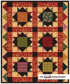 Kim Diehl fat quarter scrap bundle plus the Sunday Supper quilt pattern from the Simple Whatnots Club Collection 1.
