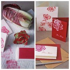 ❥ DIY rose stamp