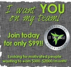 are you willing to take the challenge to help other believe in making themselves look amazing and happy:)??? and get amazing results :)? ask me how