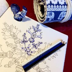 Раскраски | Зачарованный лес | Таинственный сад