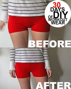 How to prevent awkward spandex - holy cow, so necessary. (It would probably be frowned upon to post this in some public places in the gym, huh?)