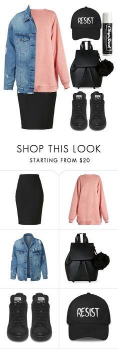 """""""Street smart"""" by rhianna-alexandre ❤ liked on Polyvore featuring Winser London, Acne Studios, LE3NO, IMoshion and Chapstick"""