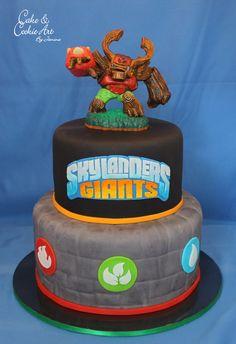 Skylanders theme cake