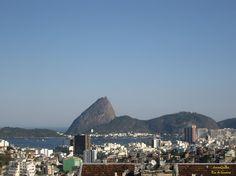 Panorama visto do Parque das Ruínas em Santa Teresa. Rio de Janeiro