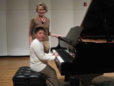 ACS student performs at piano celebration
