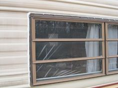 waterproof: Patch your trailer leaks with silicone Shasta Camper, Camper Trailers, Rv Campers, Camper Windows, Vintage Travel Trailers, Vintage Caravans, Vintage Campers, Camper Makeover, Camper Ideas