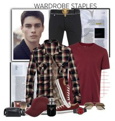 """368"" by treysi-whitney ❤ liked on Polyvore featuring Paul Smith, Topman, The Art of Shaving, River Island, Converse, Gucci, Uri Minkoff, Prada, Ted Baker and men's fashion"