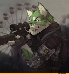furry,фурри,фэндомы,furry art,furry canine,furry милитаризм,furry with weapon,Koul