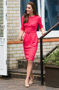 Kate Middleton - Kate Middleton Visits a Counseling Program